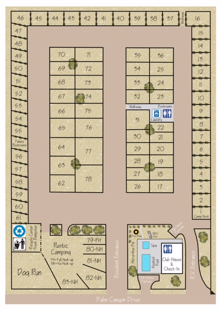 Borrego Map